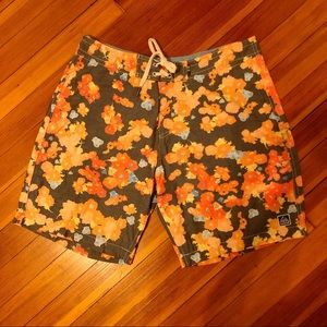 REEF Floral Boardshorts Swimsuit